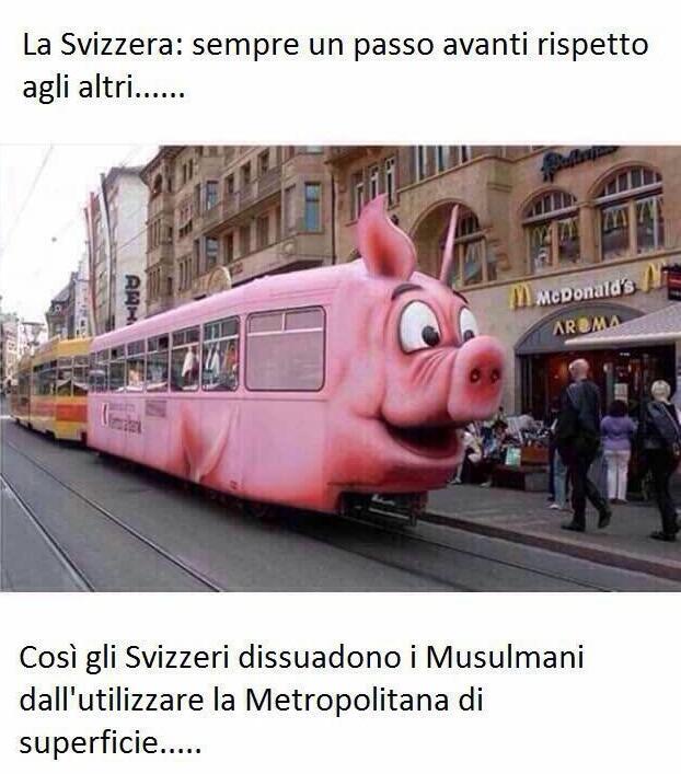 svizzera treno anti musulmani fake bufala - 1