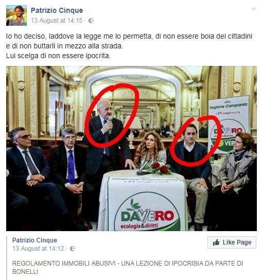 patrizio cinque bagheria di maio cancelleri m5s abusivismo di necessità - 2