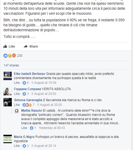 scuola settembre vaccini obbligatori popolo unico - 2