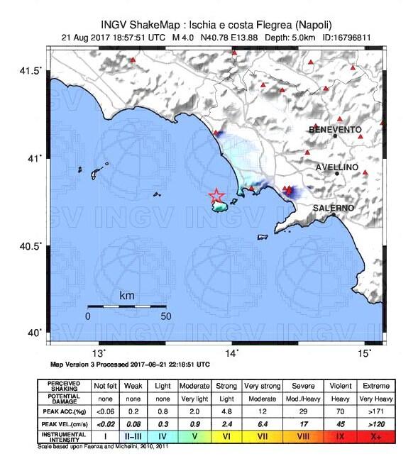 terremoto casamicciola ischia magnitudo - 1