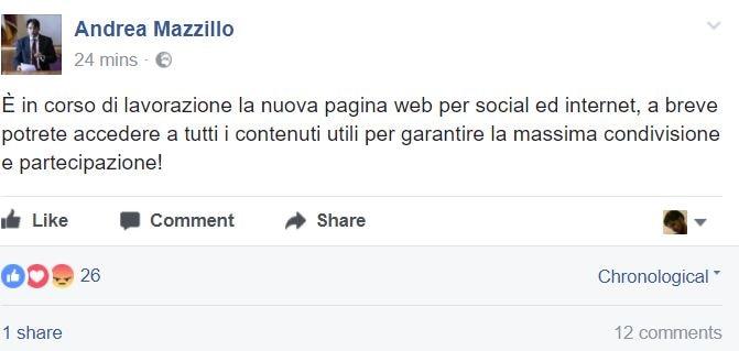 andrea mazzillo facebook