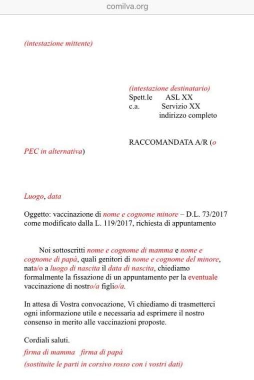 antivax scuola certificazioni - 4