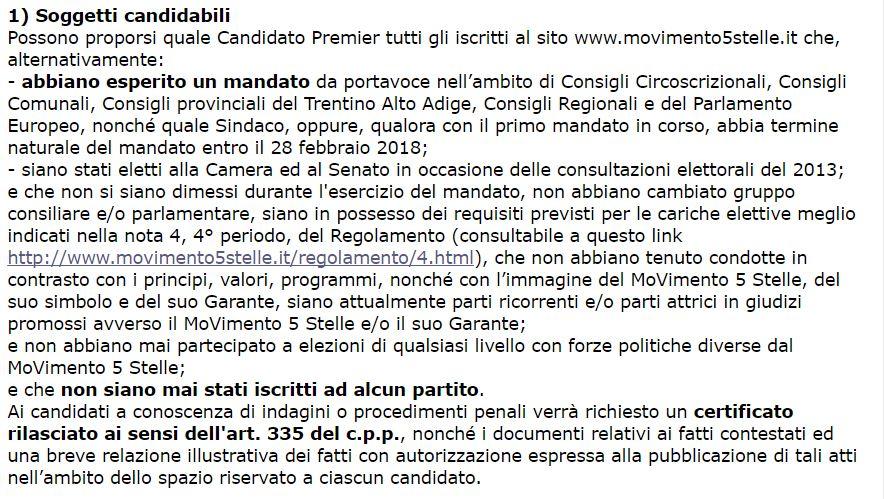 beppe grillo candidato premier 1