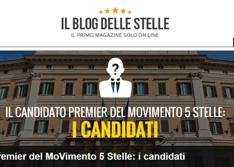 candidati premier m5s 1