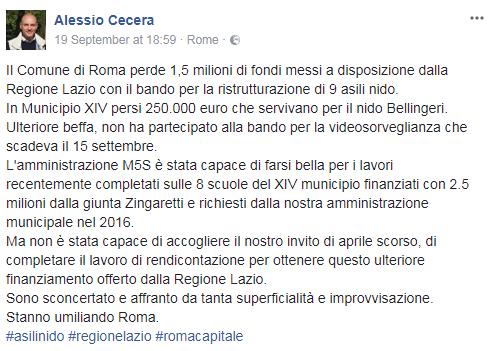 comune di roma revoca finaziamento asili nido regione lazio -2
