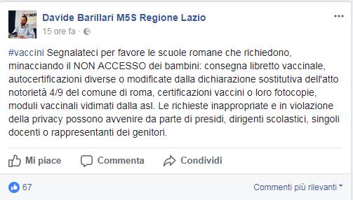 comune roma autocertificazione vaccini scuola - 3