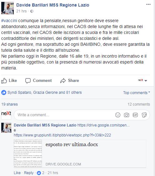 comune roma autocertificazione vaccini scuola - 5
