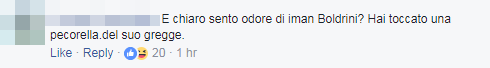 fabrizio bracconeri kyenge insulti twitter - 9