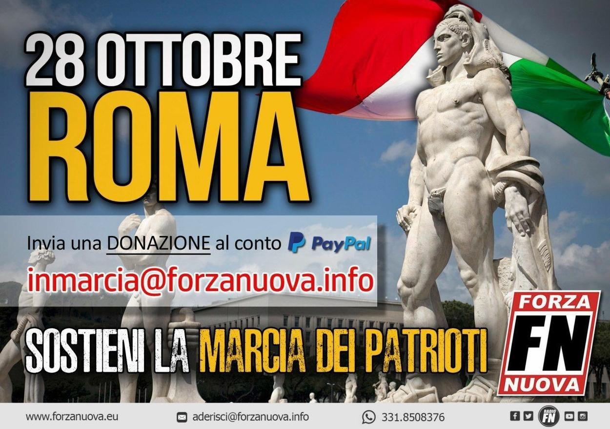 forza nuova marcia su roma - 3