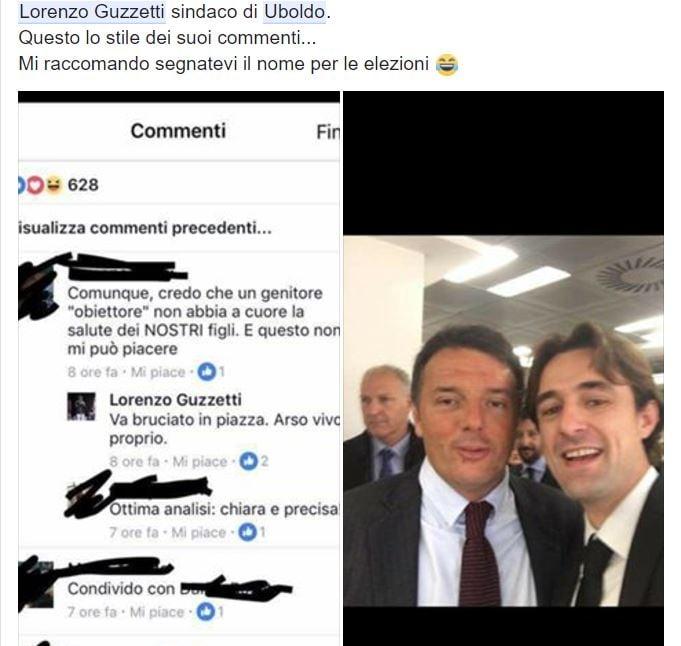 lorenzo guzzetti arso vivo