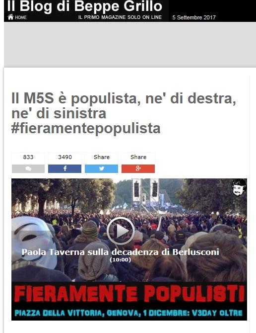 m5s populisti di maio - 2