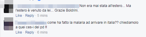malaria bambina trento immigrati boldrini - 12