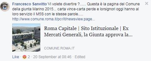 mercati generali roma ostiense m5s - 2