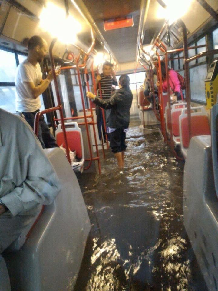 pioggia roma atac