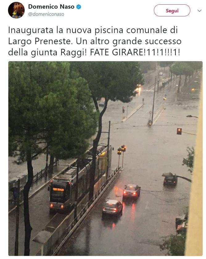 pioggia roma