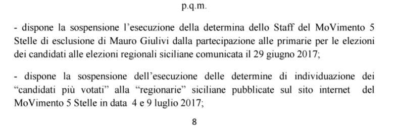 regionarie m5s sicilia sospese 1