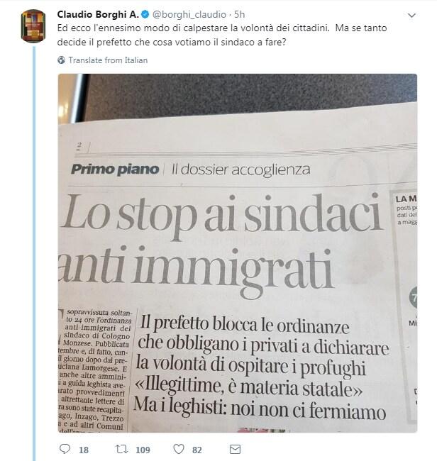 sindaci leghisti ordinanza anti profughi - 7