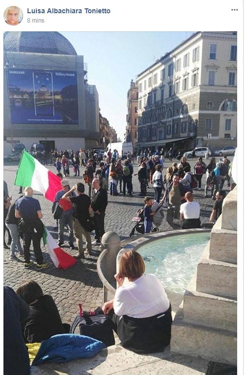 antonio pappalardo rivoluzione 10 ottobre fallita piazza del popolo - 10