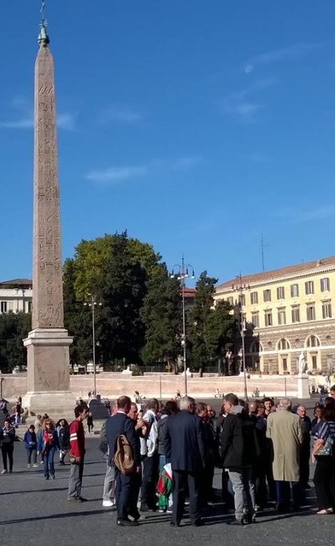 antonio pappalardo rivoluzione 10 ottobre fallita piazza del popolo - 2