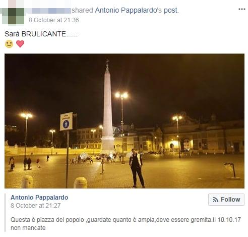 antonio pappalardo rivoluzione 10 ottobre fallita piazza del popolo - 3