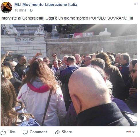 antonio pappalardo rivoluzione 10 ottobre fallita piazza del popolo - 6