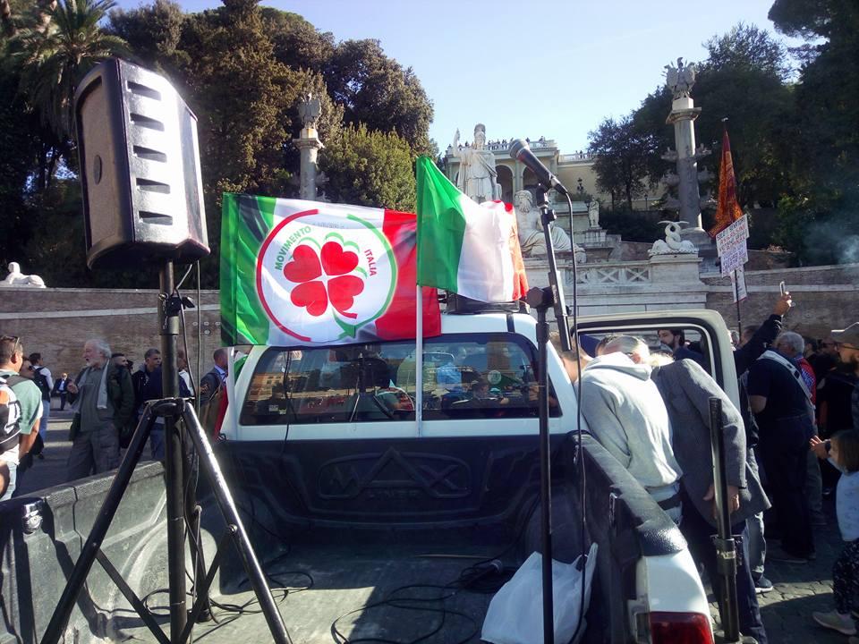 antonio pappalardo rivoluzione 10 ottobre fallita piazza del popolo - 9