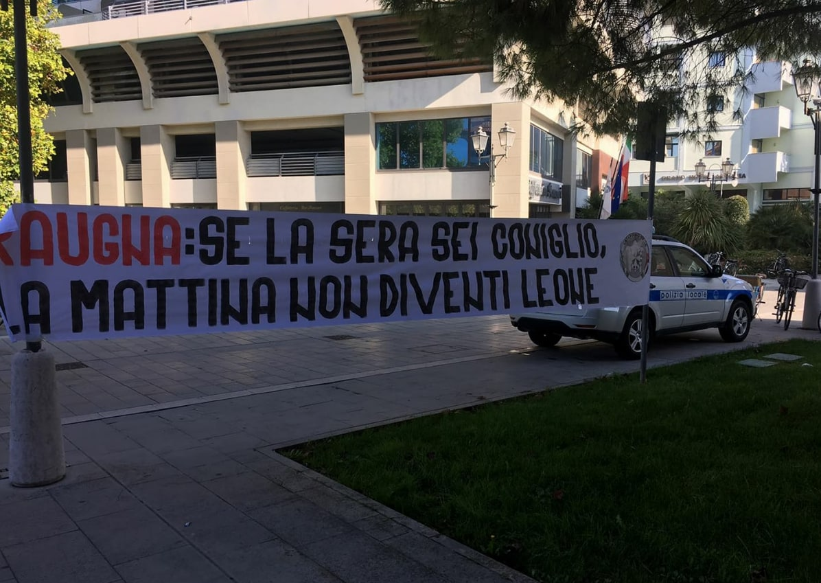 casapound grado profughi sindaco raugna -1