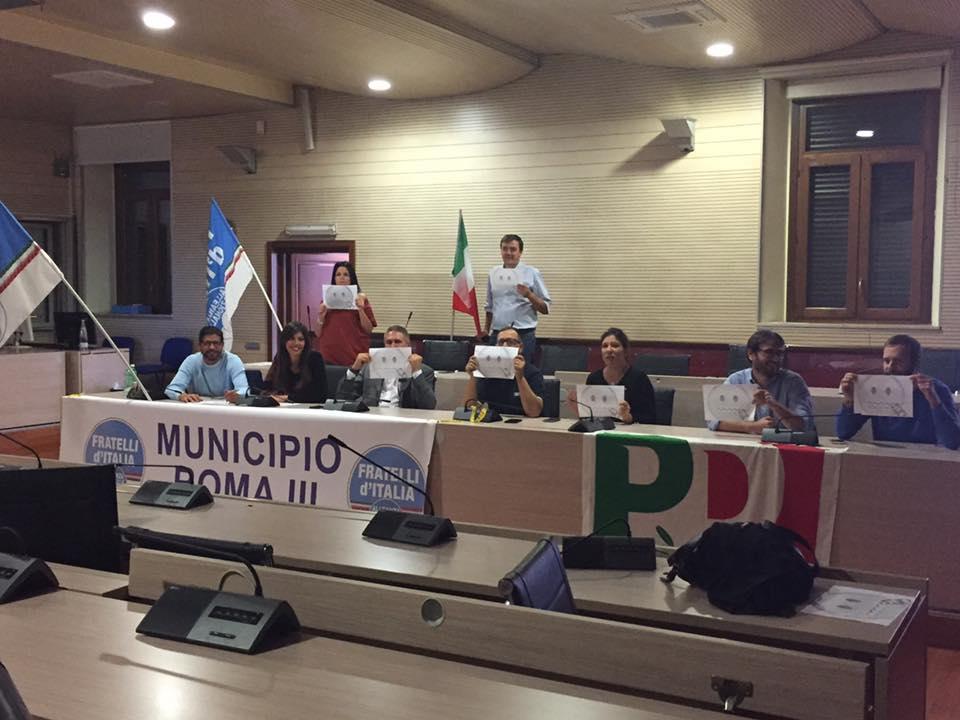 m5s municipio III capoccioni consiglio comunale burri - 2