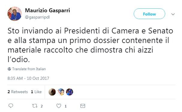 maurizio gasparri saviano offese internet - 2