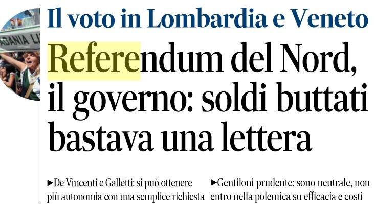 referendum autonomia veneto lombardia