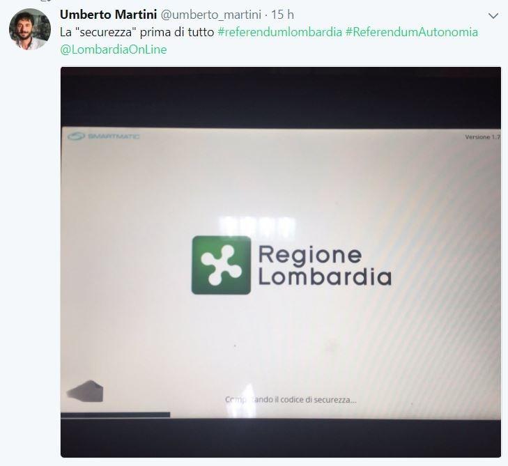 referendum per l'autonomia di veneto e lombardia tablet voting machine 3