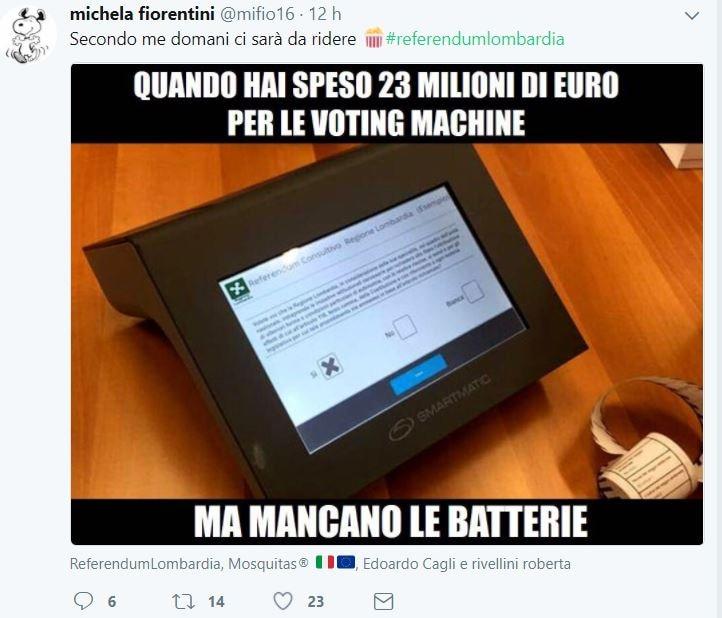 voting machine tablet referendum lombardia