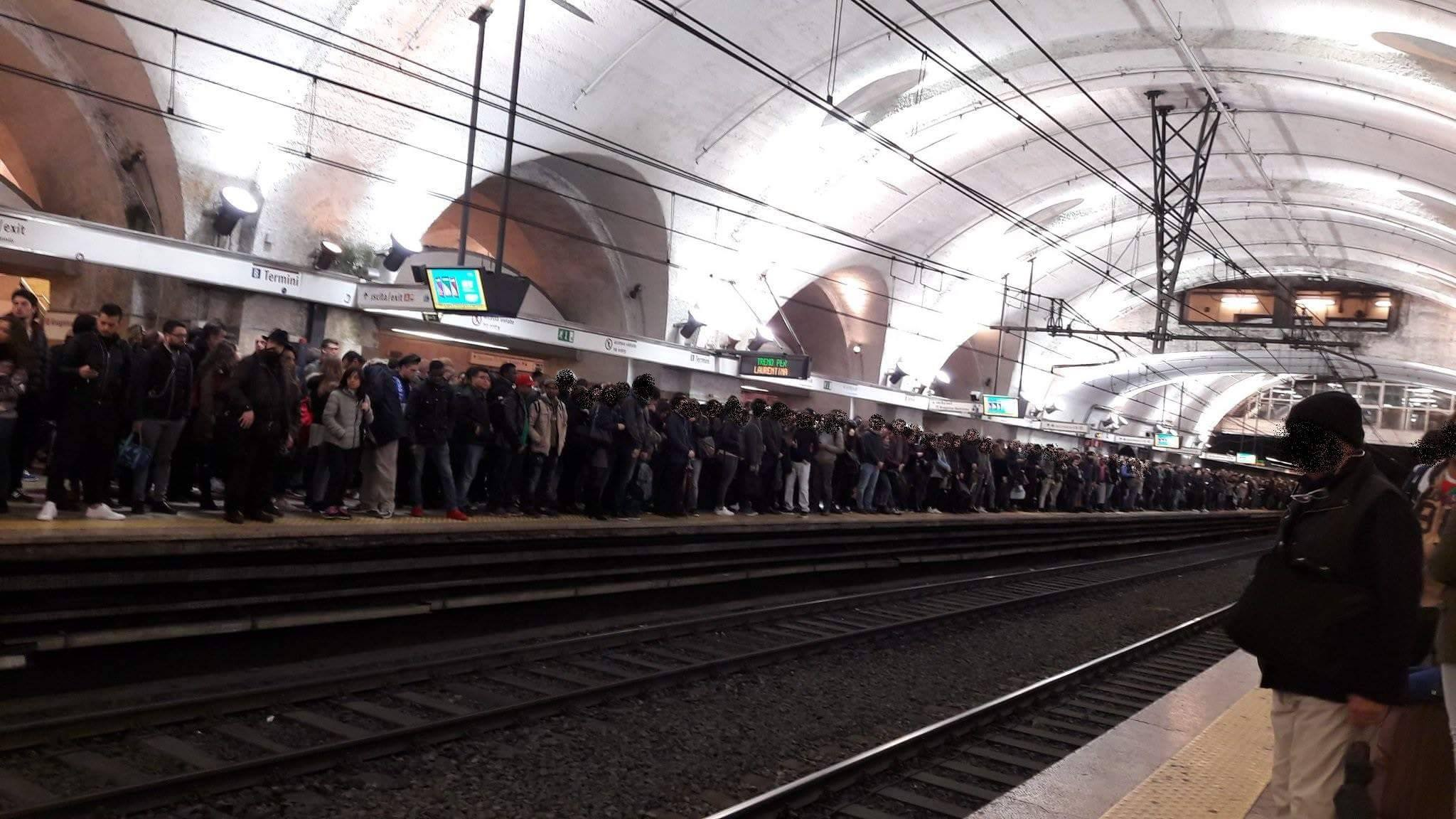 atac metro roma sciopero bianco enrico stefàno - 9