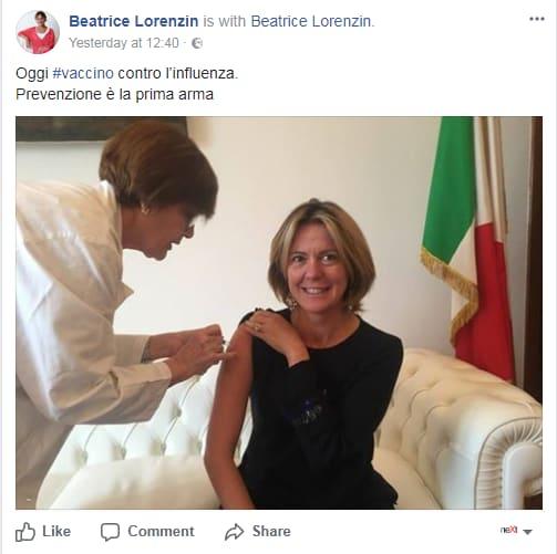 beatrice lorenzin vaccino influenza no-vax - 9