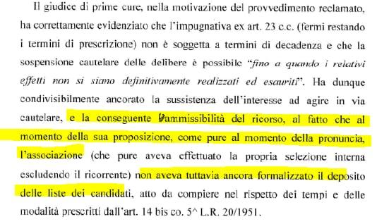 cancelleri ricorso giulivi regionarie m5s sicilia tribunale - 3