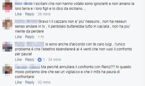 di maio renzi confronto grillini - 5