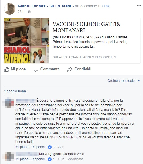 gianni lannes montanari gatti vaccini - 2