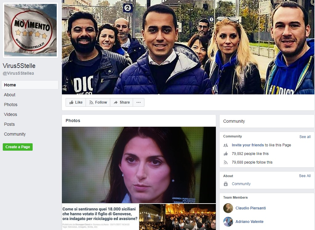 maria elena boschi laura boldrini funerale riina bufala fake news - 2