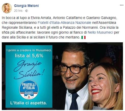 matteo salvini sicilia voti fratelli d'italia - 3