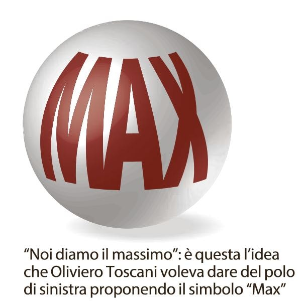 max simbolo sinistra