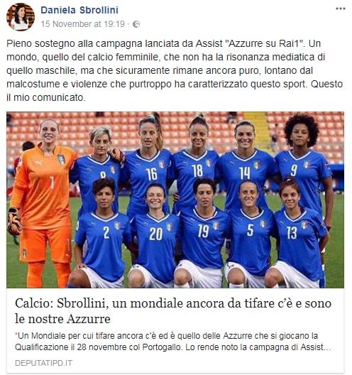 nazionale calcio femminile italia rai petizione - 2