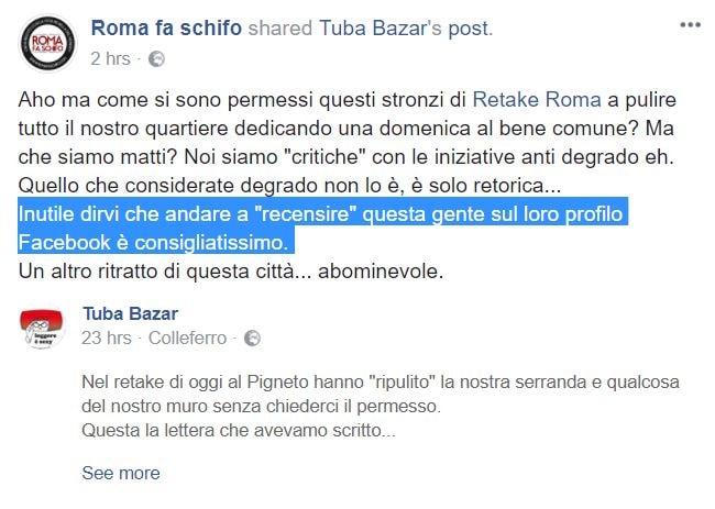 roma fa schifo retake