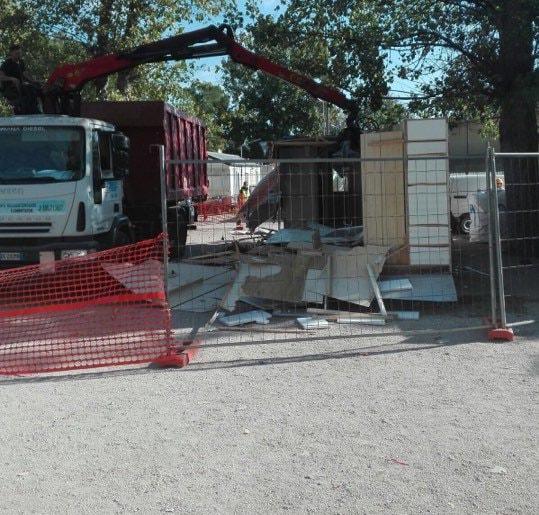 sgombero camping river roma raggi piano rom demolizione - 10