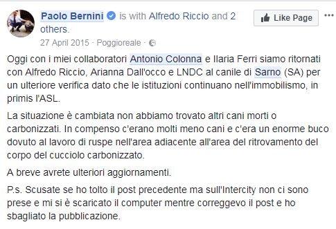 PAOLO BERNINI ANTONIO COLONNA SEQUESTRI - 7
