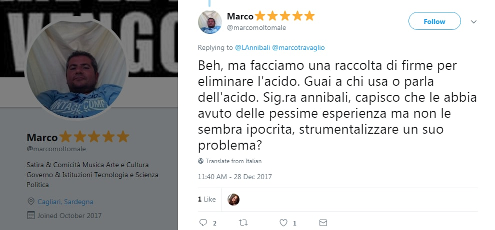 marco travaglio acido legislatura lucia annibali - 5