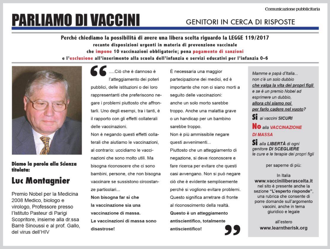 pubblicità free vax fatto quotidiano
