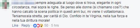 virginia raggi opera roma vestito commenti - 12