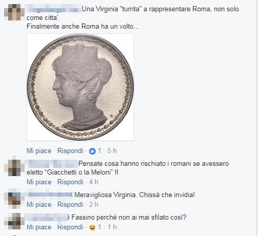 virginia raggi opera roma vestito commenti - 9
