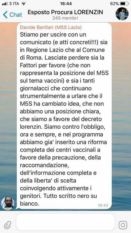 barillari m5s vaccini obbligatori di maio fattori silvestri - 1