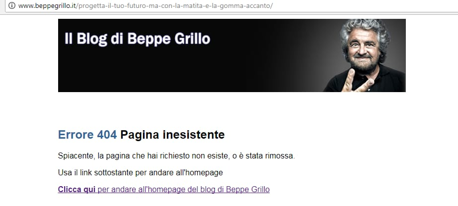 beppe grillo blog nuovo - 1
